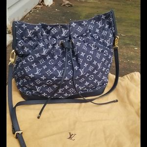 Louis Vuitton Denim Noe Bag